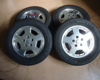 Nissan - Serena (C24) Genuine / YH / KU15 Inch 4 Pieces